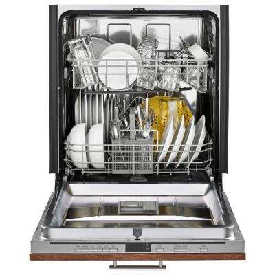 Top Control Dishwasher in Panel Ready with Stainless Steel Tub, 49 dBA