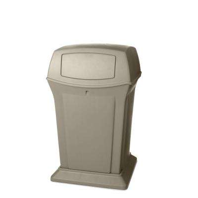 Rubbermaid Commercial Products Ranger 45 Gal. Beige 2-Door Trash Can by Rubbermaid Commercial