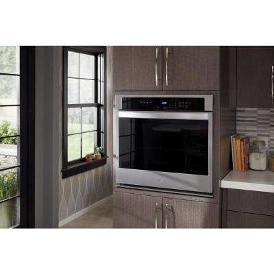 30 in. Single Electric Thermal Wall Oven with Self-Cleaning in Stainless Steel