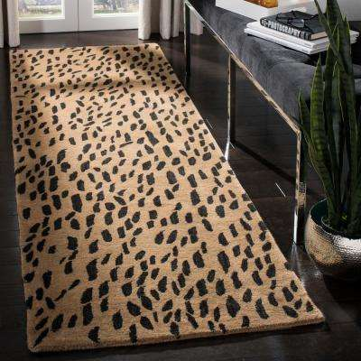 Soho Beige/Brown 3 ft. x 12 ft. Runner Rug