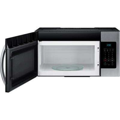 30 in W 1.6 cu. ft. Over the Range Microwave in Fingerprint Resistant Stainless Steel