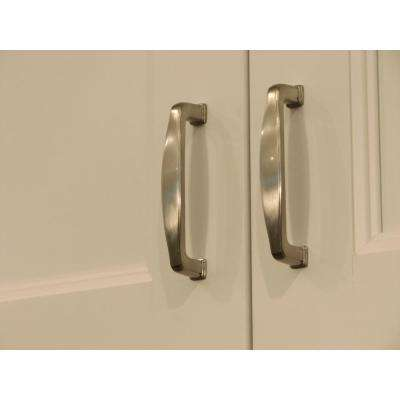 Providence 3-3/4 in. Center-to-Center Satin Nickel Arch Cabinet Pull (25-Pack)