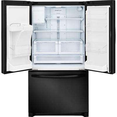 26.8 cu. ft. French Door Refrigerator in Ebony