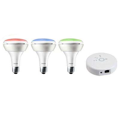 Hue 65W Equivalent BR30 LED Starter Kit with Free Extra Bulb
