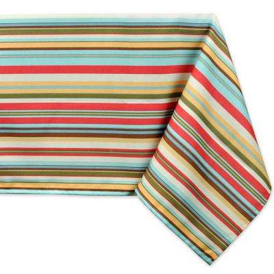 Outdoor 60 in. x 120 in. Polyester Tablecloth