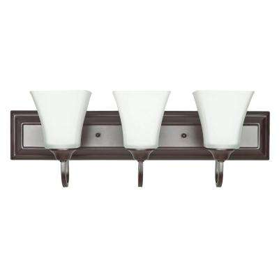 Holland 3-Light Oil-Rubbed Bronze Sconce
