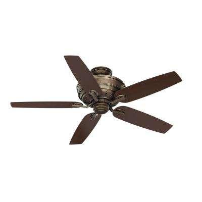 Adelaide 55 in. Indoor Aged Bronze Ceiling Fan