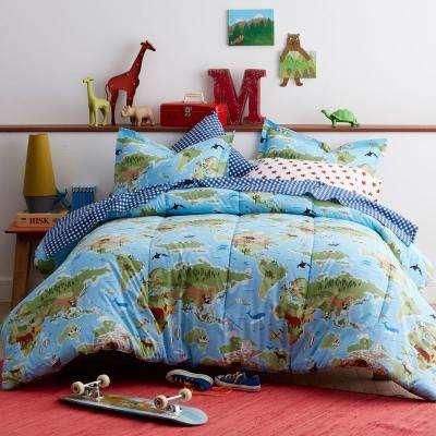 World Traveler Cotton Percale Comforter