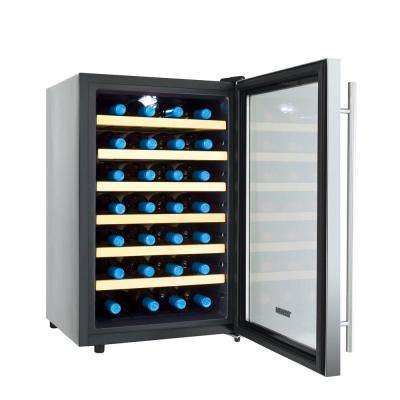 28-Bottle Single Zone Thermoelectric Wine Cooler