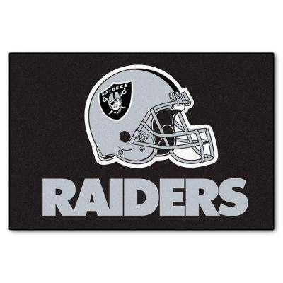 Oakland Raiders 19 in. x 30 in. Accent Rug