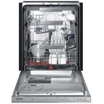 24 in Top Control Tall Tub WaterWall Dishwasher inStainless Steel, 3rd Rack, AutoRelease Dry, 38 dBa