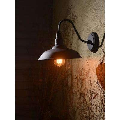 Dale 1-Light Black Outdoor Lantern