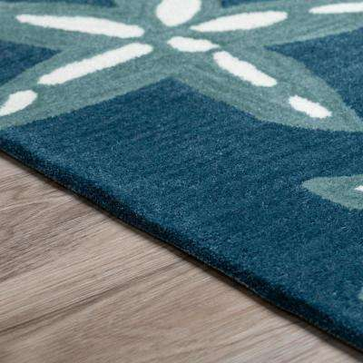 Cove 8 Starfish Baltic 3 ft. 6 in. x 5 ft. 6 in.  Area Rug