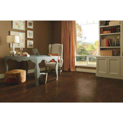 American Vintage Scraped Mocha 3/4 in. T x 5 in. W x Varying L Solid Hardwood Flooring (23.5 sq. ft. / case)