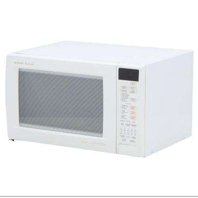 1.5 cu. ft. 900W Convection Microwave in White