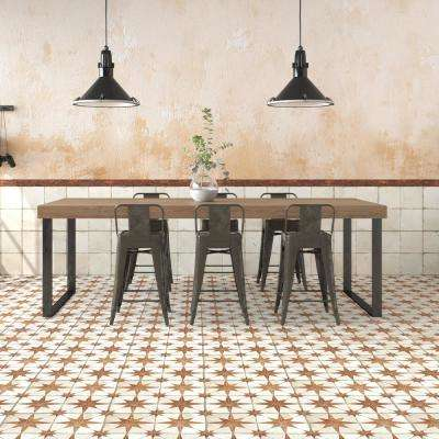 Kings Star Oxide Encaustic 17-5/8 in. x 17-5/8 in. Ceramic Floor and Wall Tile (33 cases / 363.66 sq. ft. / pallet)