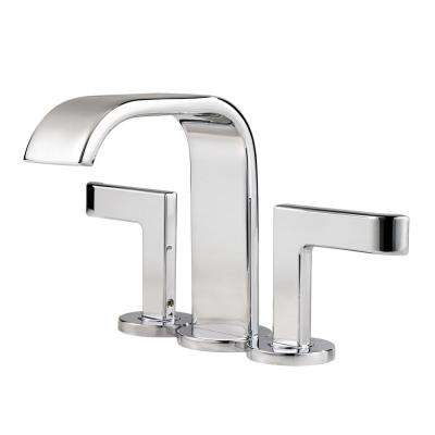 Skye 4 in. Minispread 2-Handle Bathroom Faucet in Polished Chrome