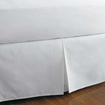 Classic Percale Bed Skirt, 14 in. Drop