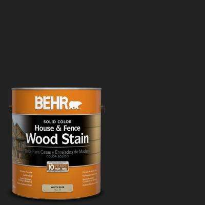 1-gal. #SC-102 Slate Solid Color House and Fence Wood Stain