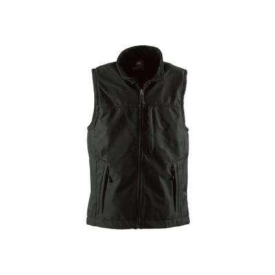 Men's Black Polyester Wildhorn Softshell Vest