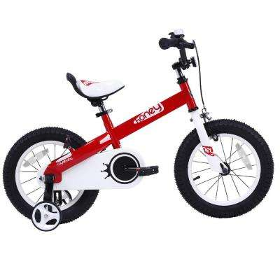 16 in. Honey Kid's Bike, Perfect Gift For Kid's, Boy's Bike, Girl's Bike, Wheels in Red