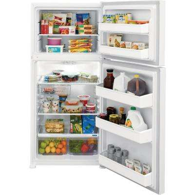18.3 cu. ft. Top Freezer Refrigerator in White, ENERGY STAR