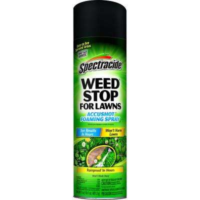 17 oz. Weed Stop for Lawns Accushot Foaming Spray