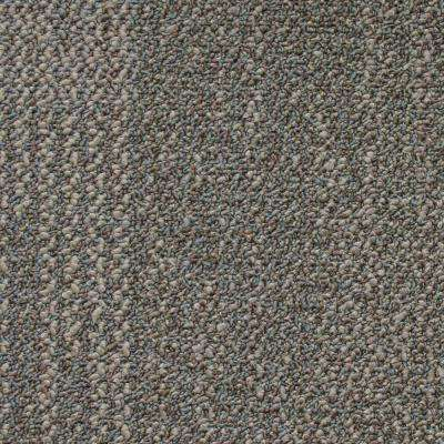 Liberty color Rustic Taupe Loop 19.7 in. x 19.7 in. Carpet Tile (20 Tiles/Case)