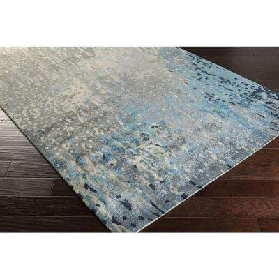 Atkinson Teal 3 ft. x 8 ft. Indoor Runner Rug