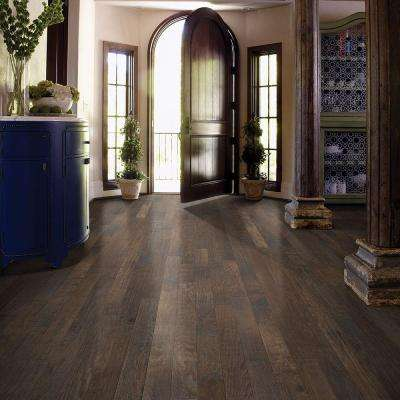 Western Hickory Winter Grey 3/4 in. Thick x 3-1/4 in. Wide x Random Length Solid Hardwood Flooring (27 sq. ft. / case)