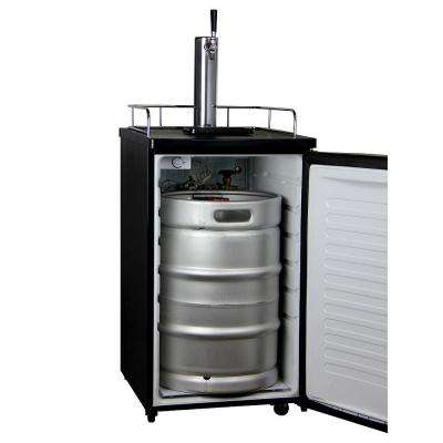 Full Size Keg Beer Dispenser with Single Tap