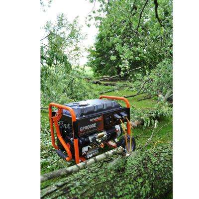 8,000-Watt Gasoline Powered Electric Start Portable Generator