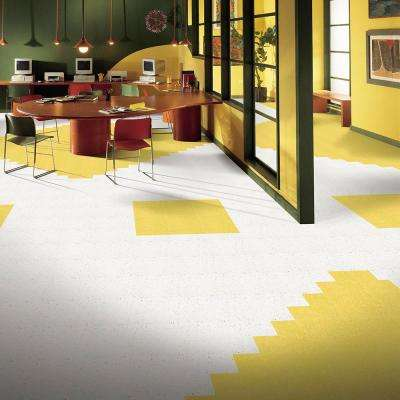 Excelon Multi 12 in. x 12 in. Jubilee White Vinyl Tile Flooring (45 sq. ft. / case)