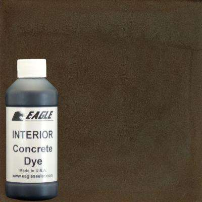1-gal. Maple Syrup Interior Concrete Dye Stain Makes with Water from 8 oz. Concentrate