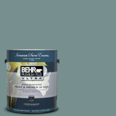 1-Gal. #PPU12-3 Dragonfly Satin Enamel Interior Paint