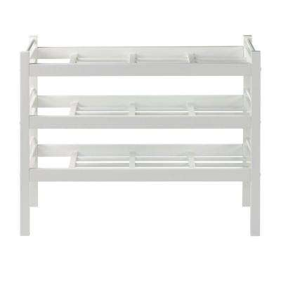 Solutions Picket Fence 33 in. W Boot Rack