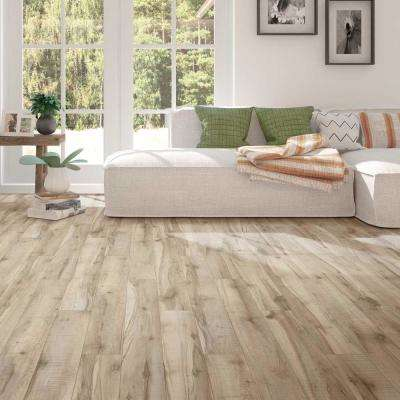 Antique Lumber Beige and Grey 6 in. Wide x 48 in. Length Click Floating Vinyl Plank (19.39 sq. ft./case)