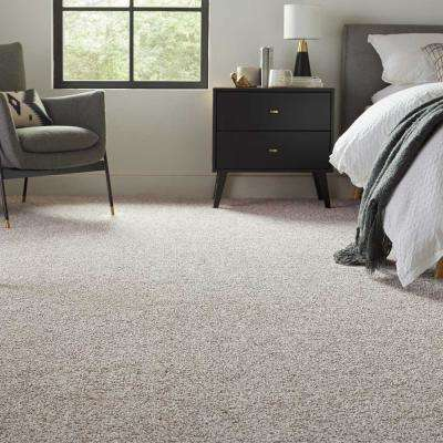 Barx I - Color White Wash Texture 12 ft. Carpet