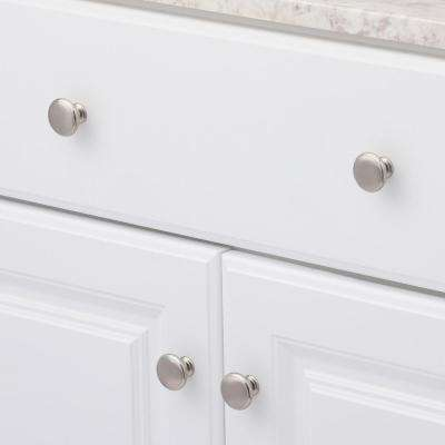 1-3/16 in. Brushed Nickel Classic Knob