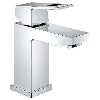 Eurocube Single Hole Single-Handle Low Arc 1.2 GPM Bathroom Faucet in StarLight Chrome