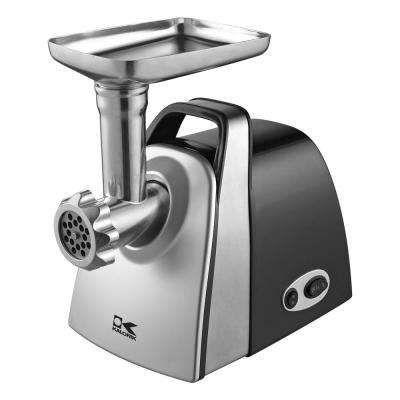 Electric Meat Grinder and Burger Press