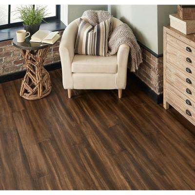 Take Home Sample - Brindle Engineered Rigid Core Bamboo Flooring - 5.12 in. Wide x 6 in. Length