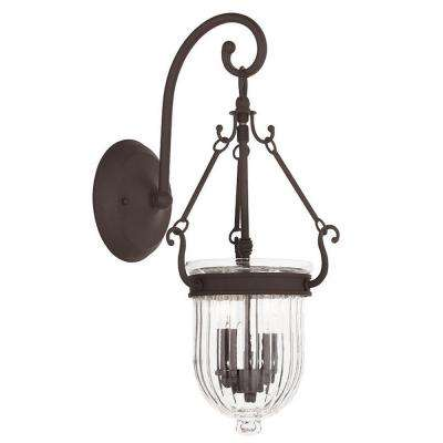 Coventry 2-Light Bronze Wall Sconce
