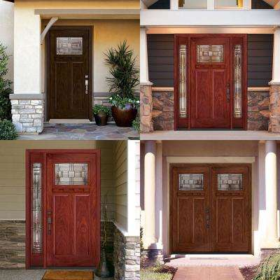 Preston Collection Customizable Fiberglass Prehung Front Door