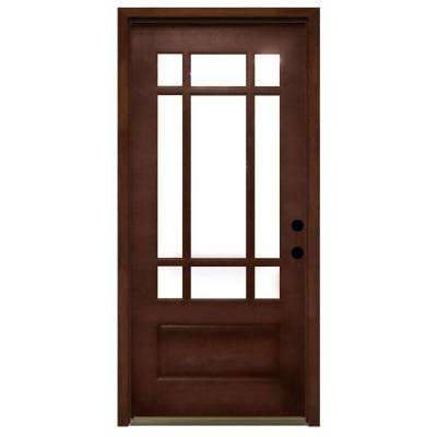 Light Brown Wood Front Doors Exterior Doors The Home Depot