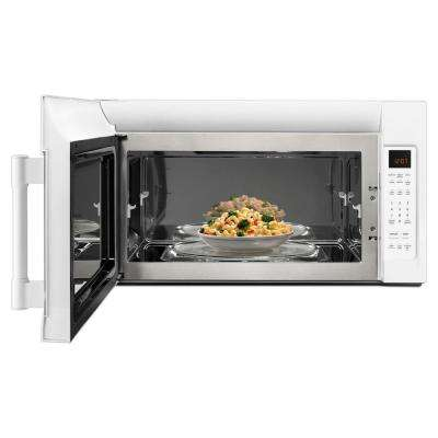 2.0 cu. ft Over the Range Microwave Hood in White