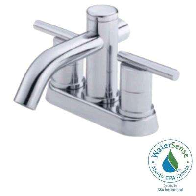Parma 4 in. Centerset 2-Handle Bathroom Faucet in Chrome