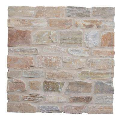 Golden White Natural Quartzite Wall Loose Veneer (100 sq. ft./pallet)