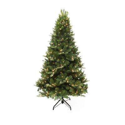 9 ft. Mount Everest Spruce EZ Power Artificial Christmas Tree with 720 Color Choice LED Lights