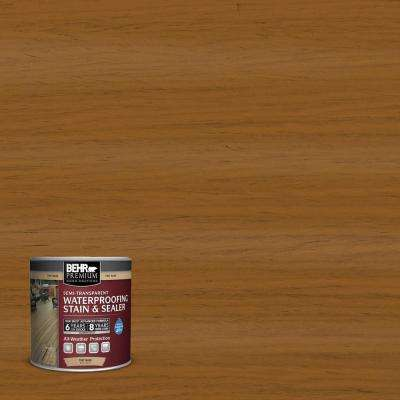 8 oz. #ST134 Curry Semi-Transparent Waterproofing Stain and Sealer Sample